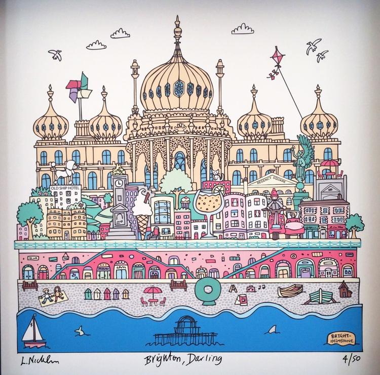 Brighton, Darling (unframed) - Image 0
