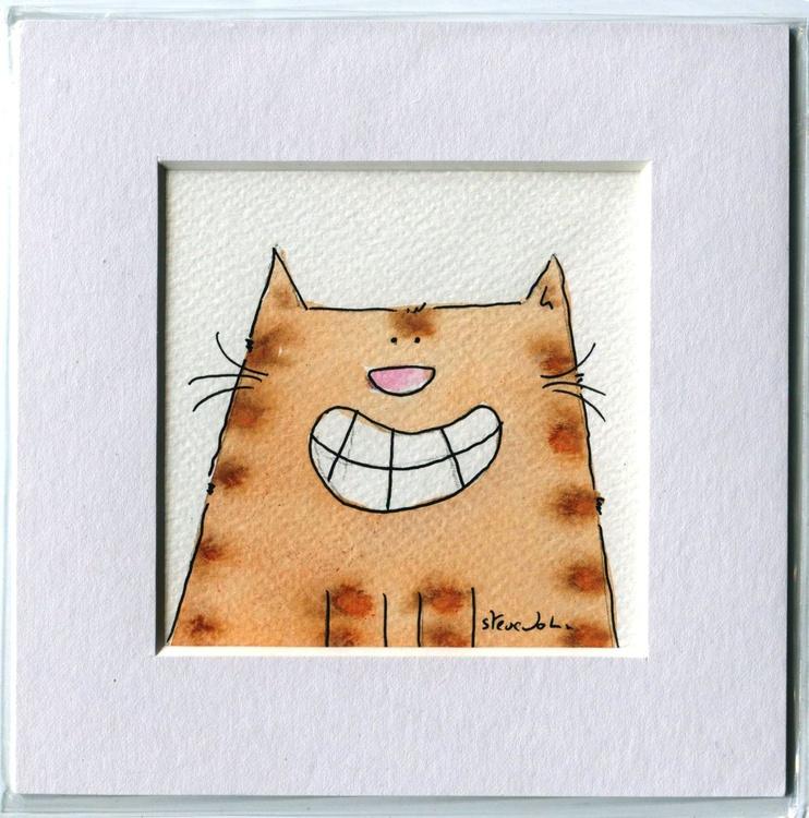 You make me smile.... small cartoon artwork - Image 0