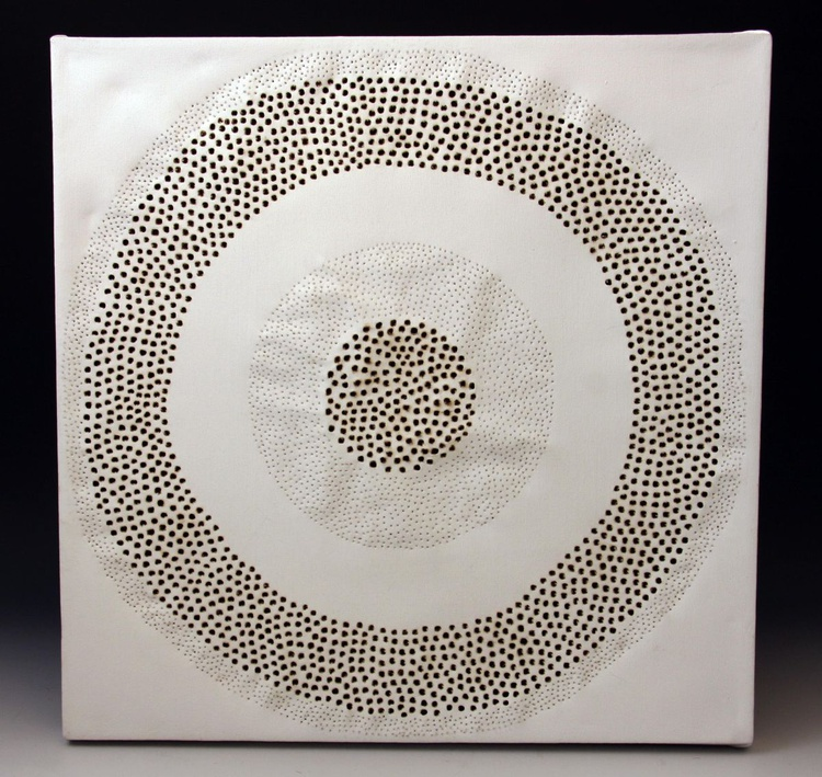 White Burn Circle - Image 0