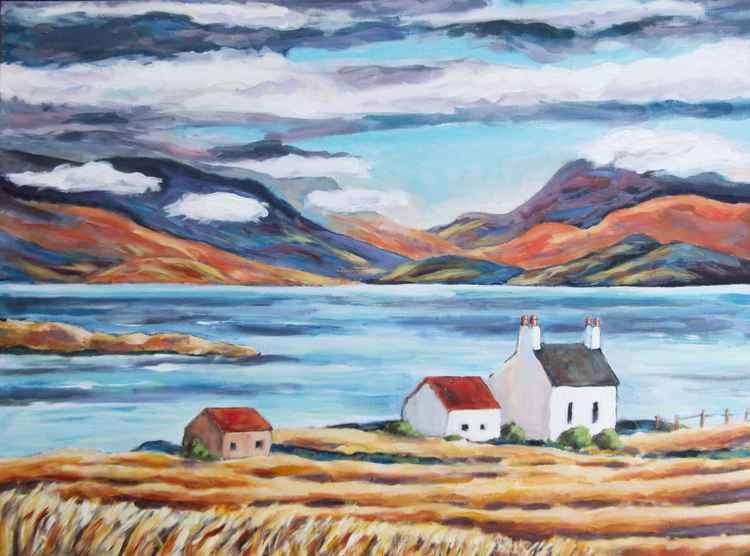 Crofts on the Isle of Skye -
