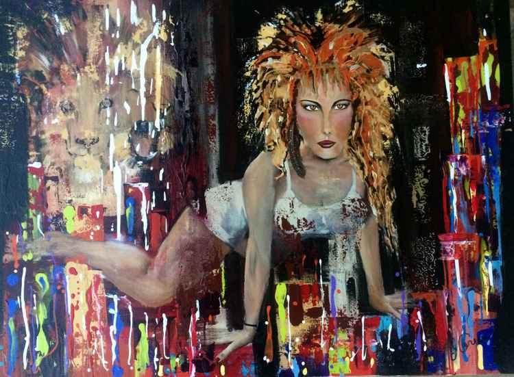 Lion woman -