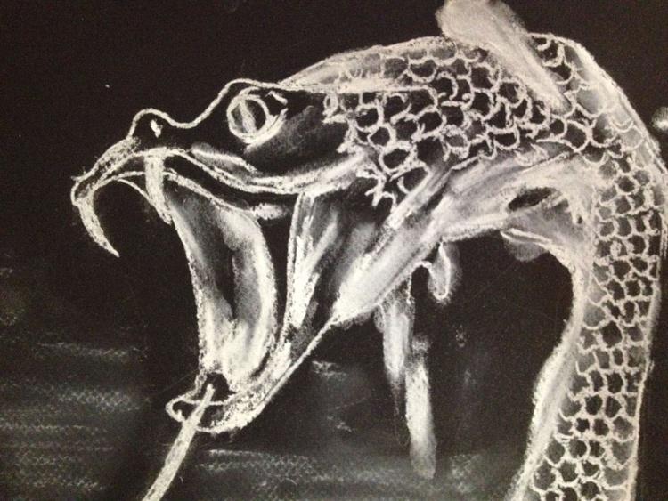 玄武   Black Tortoise   Schwarze Schildkröte   Genbu - Image 0