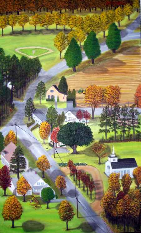 FALL IN SMALL TOWN -