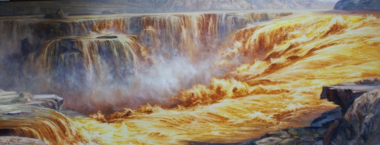 """Fire waterfall"" - Image 0"