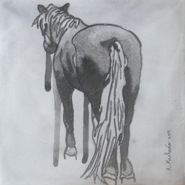 Horse Carved XXVII - Image 0