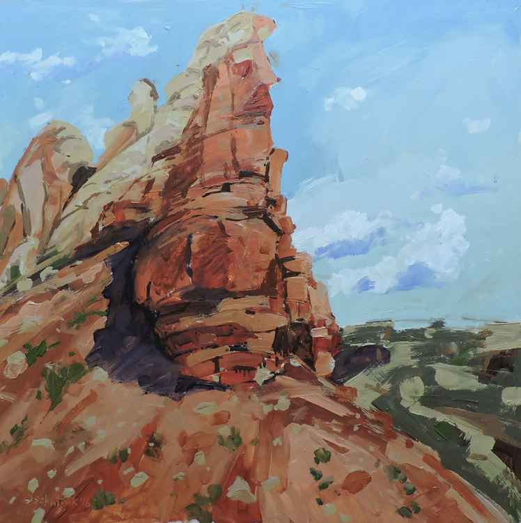 Rock Formation near Ghost Ranch -