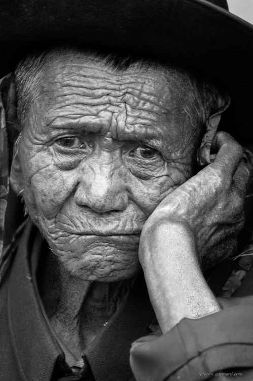 The old chinese man -