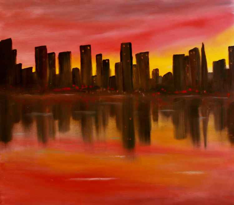 City Sunset -