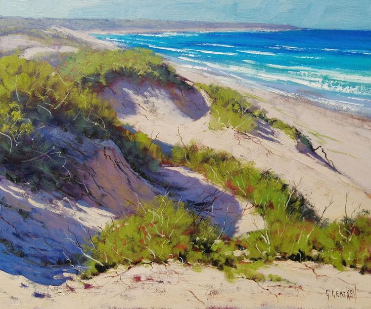 Sunlit Dunes - Image 0