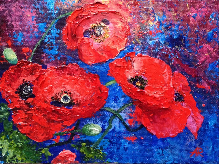 In love with poppies - Image 0