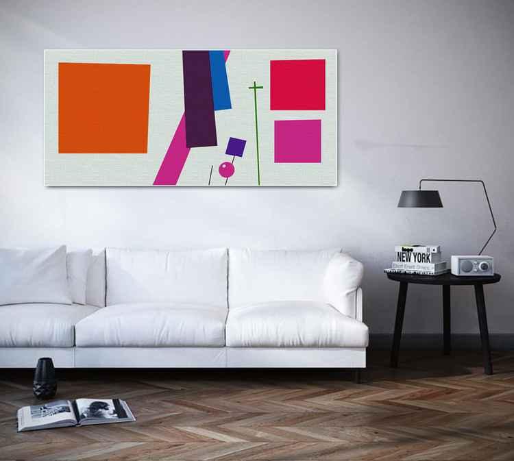 Geometric painting -