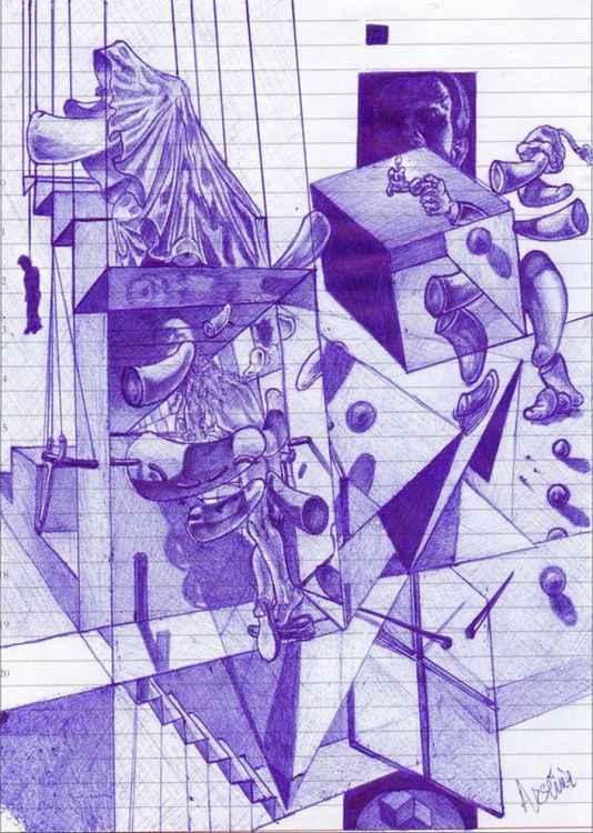 Dalinian sketch 1