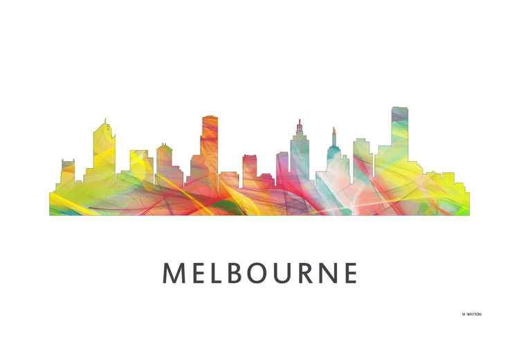 Melbourne, Victoria Australia Skyline 2 WB1 -