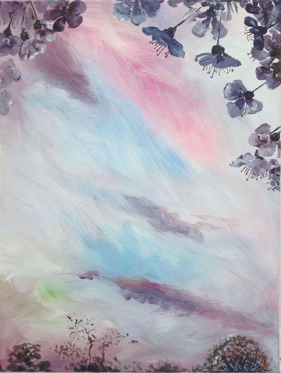 Cherry Blossom at Dusk #01 - Image 0