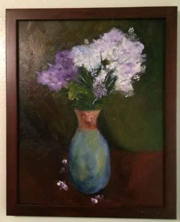 Still Life - Lavender flowers -