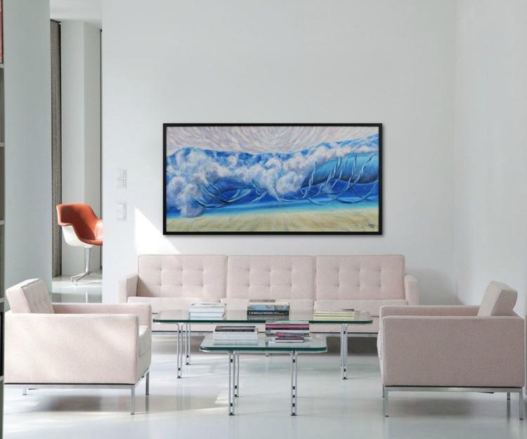 "The Breath of the Ocean III 48х24"" - Image 0"