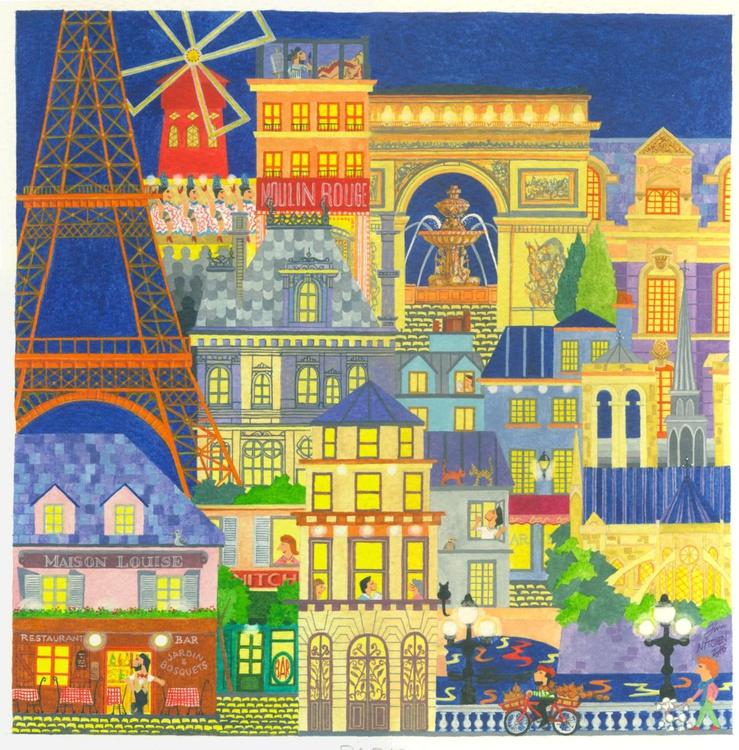 Paris (250x250mm) - Image 0