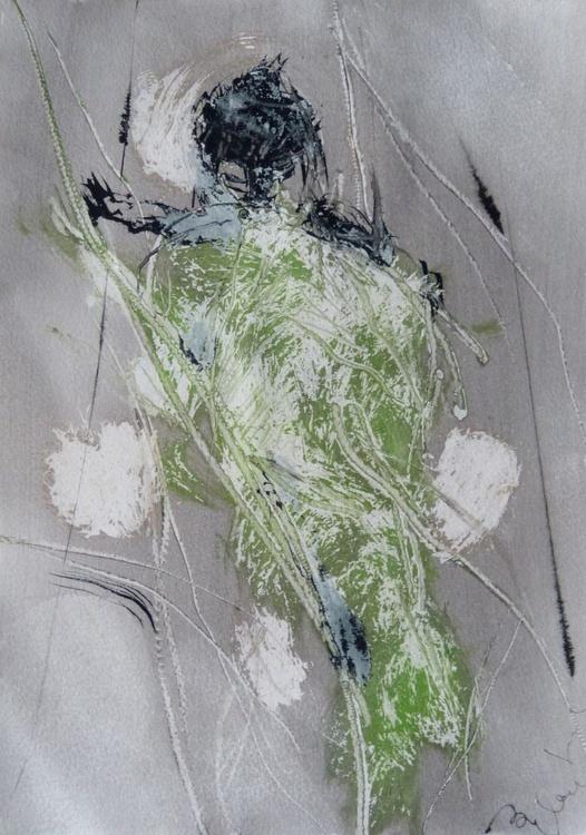 Prolegomena #79 , Acrylic on paper 29x42 cm - Image 0