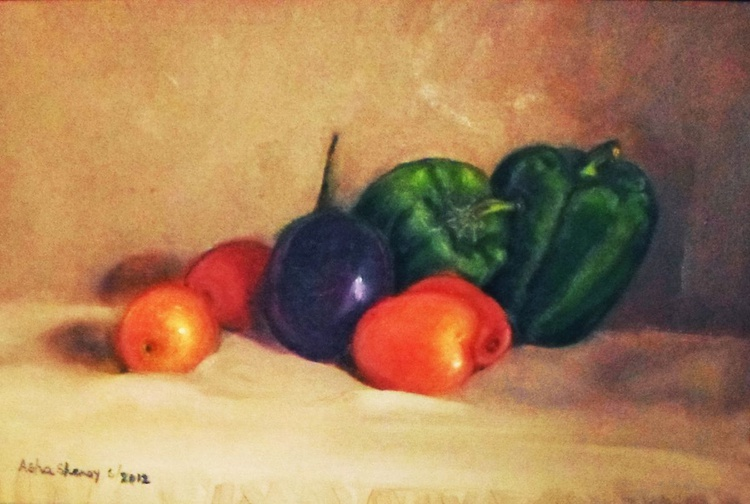 Still life with vegetables - Image 0