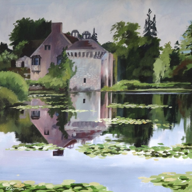 Reflections Scotney Castle - Image 0