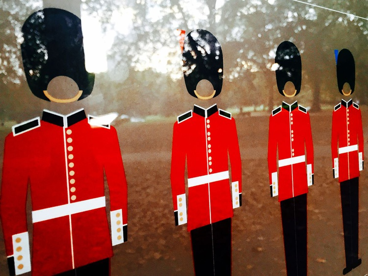 "THE ROYAL GUARDS (LIMITED EDITION 1/200) 16"" X 12"" - Image 0"