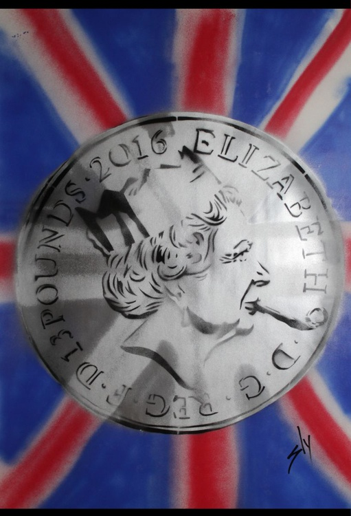£13 coin on The Flag - Image 0