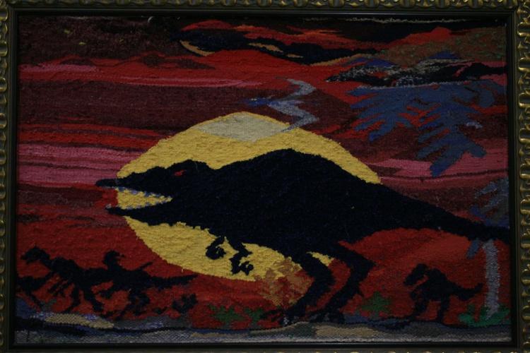 Million years B.C. (Textile art) - Image 0