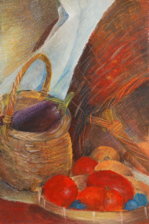Still Life with baskets - Image 0