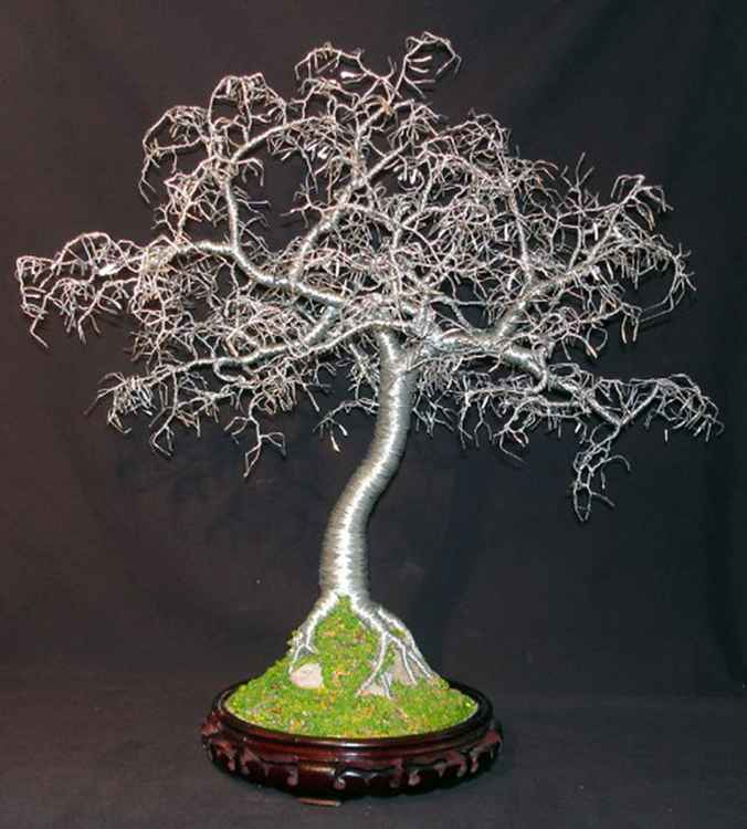 Hammered Leaves Bonsai