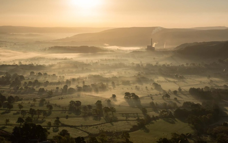 Hope Valley Sunrise  - Limited Edition Print 2015 - Image 0