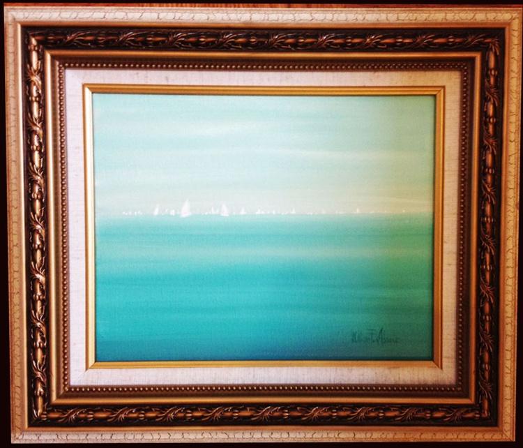 """""""Regatta Turquoise"""" - Image 0"""