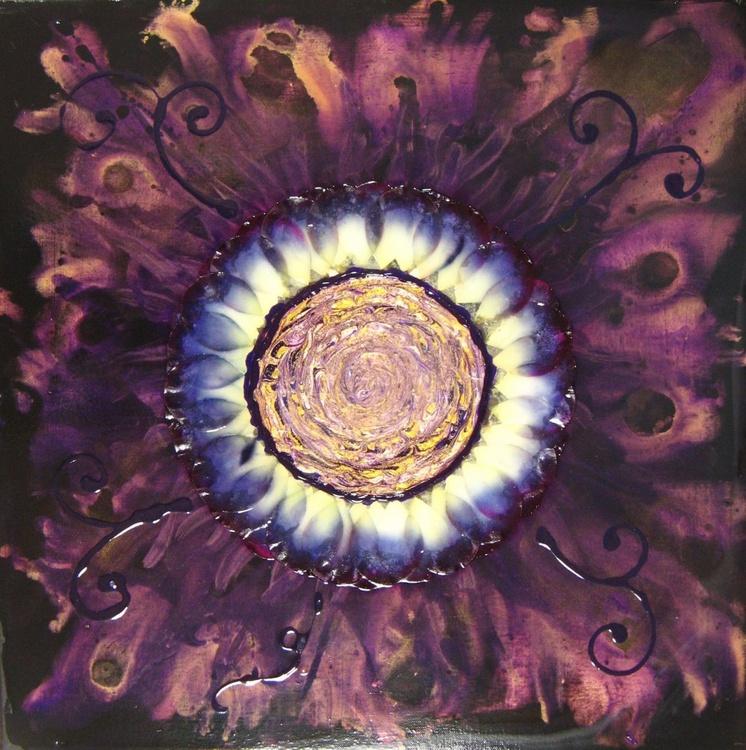 Purple Petal Flower - Image 0