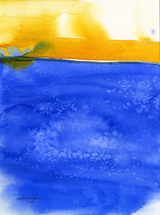 Finding Harmony 2 - Abstract Watercolor Painting - Image 0