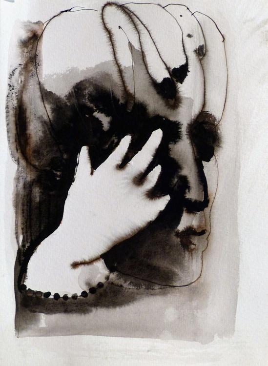 Study Of Hands 13, 21x29 cm - Image 0