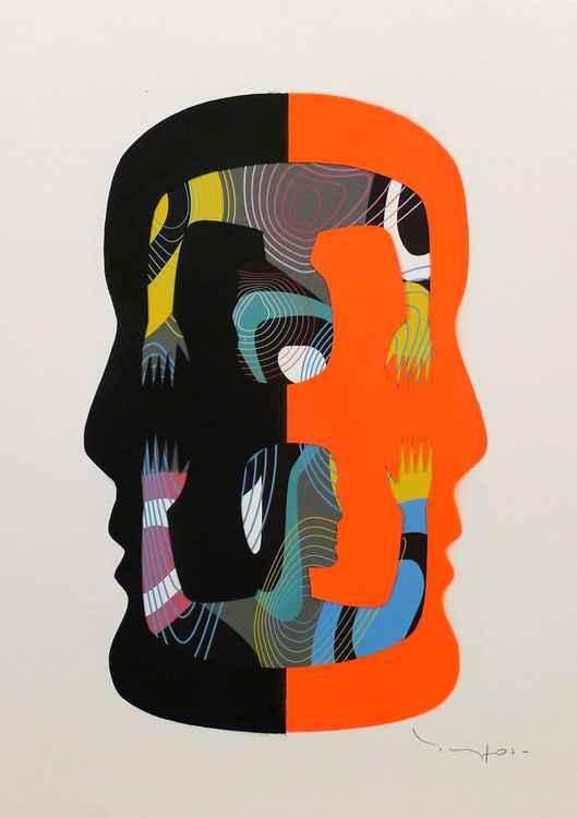 Tehos - Double Thought - Orange -
