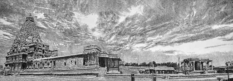 Thanjavur brihadeeswarar temple -