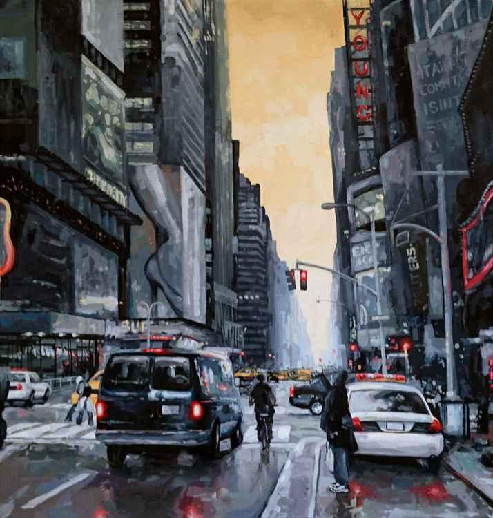 Time Square morning