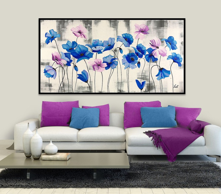 BLUE POPPIES - Image 0