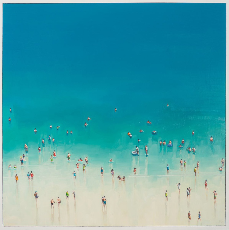 'A Day on the Sand No 1' - Image 0