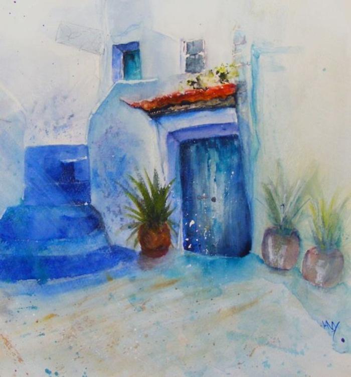 Behind Blue Doors - Image 0