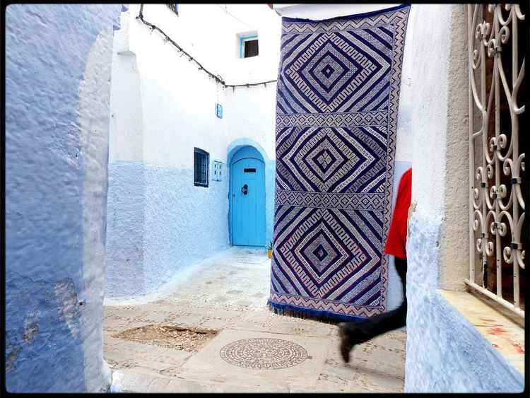 Chefchaouen : Maroc :  Walk on By, seires -