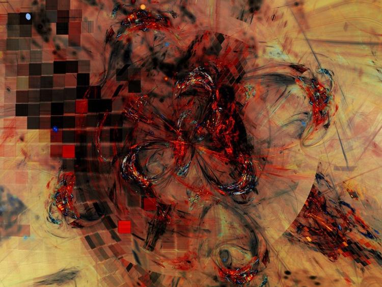 Black Fire (12x18) - Image 0