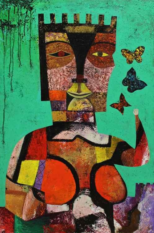 The queen of the Butterflies -