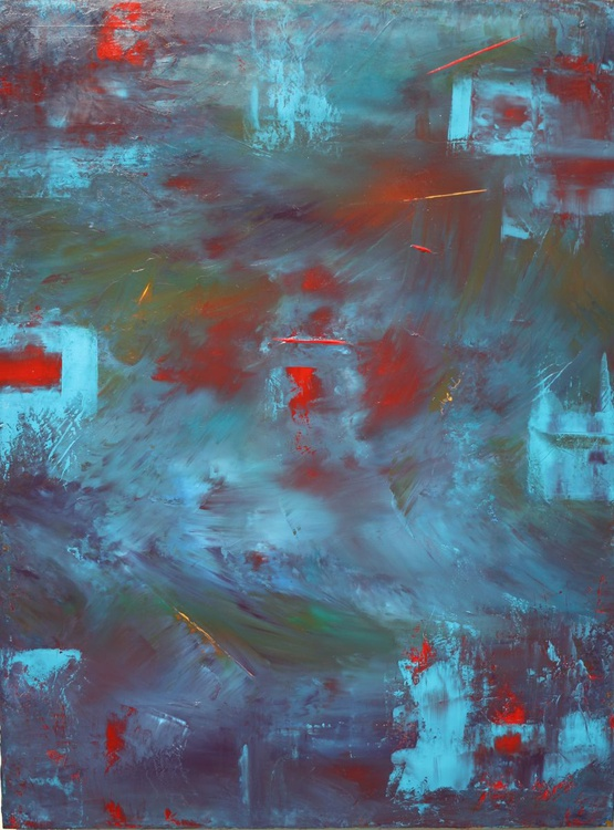 Blue Abstract Ten - Image 0