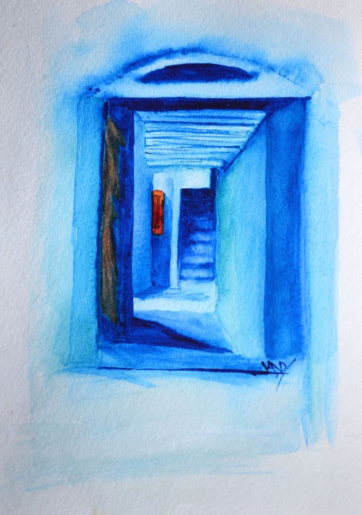Blue Stairs - Image 0