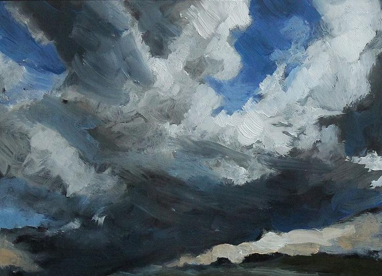 Aberdeenshire Skyscape Sketch No.7 - Image 0