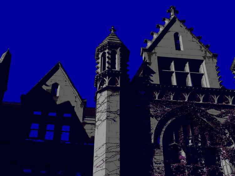 Cobb Hall Turret, UChicago