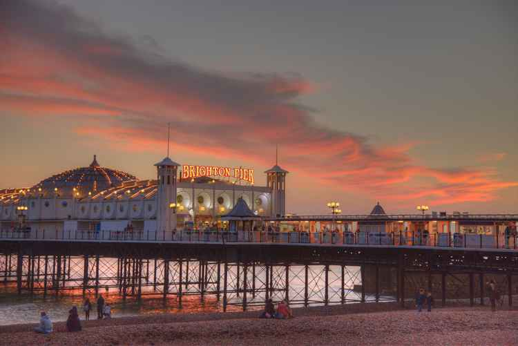 Brighton Pier Sunset