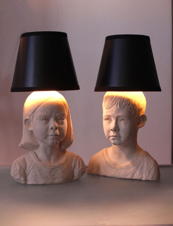 Twin Lamps - Image 0