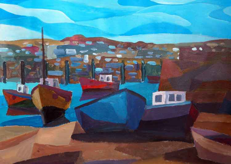 The Old Harbour, Newlyn -